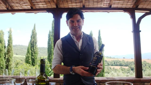 Sommelier Alessandro Nesi of Piccini wines