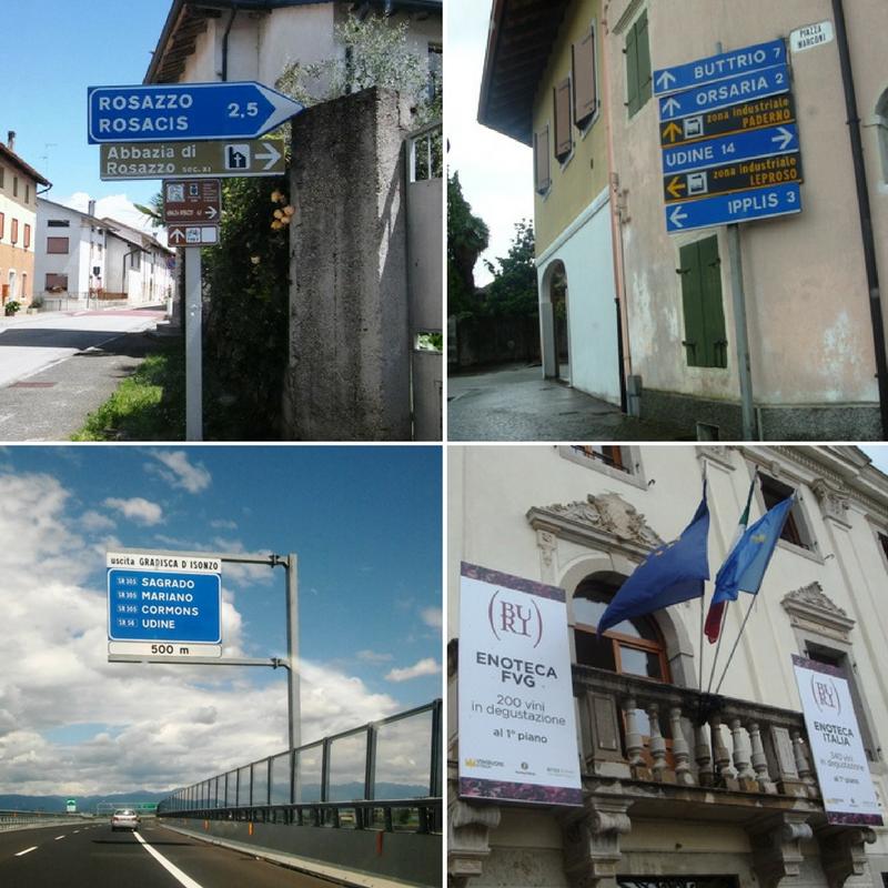 Friuli directions