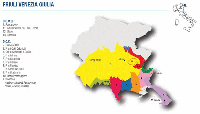 A wine trip deep into the territory of Friuli Venezia Giulia
