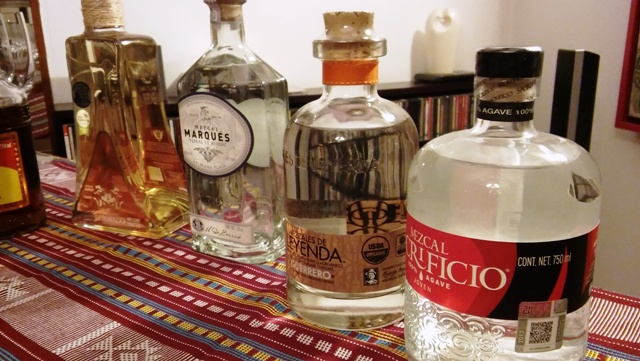 Mezcal tasting in New Delhi