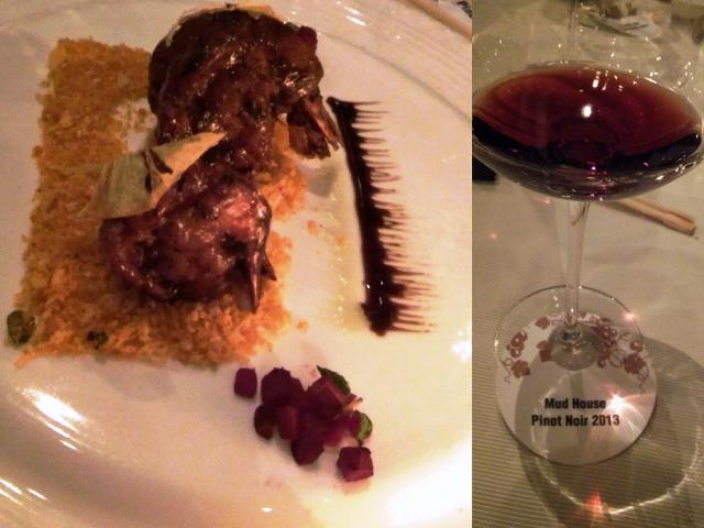 mud house pinot noir wine pairing
