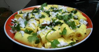 khandvi-indian-snack