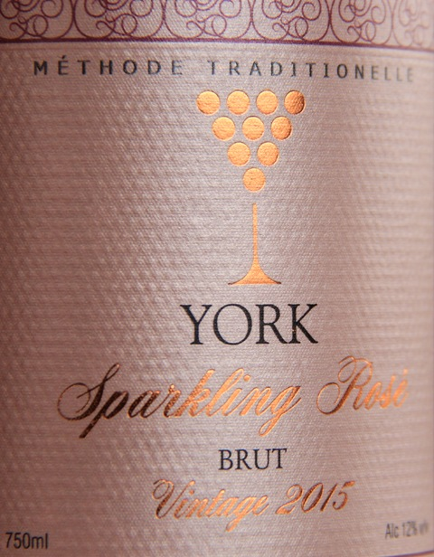 york-sparkling-rose-label