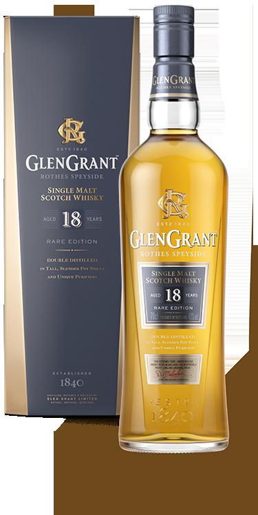 glen grant 18 years old